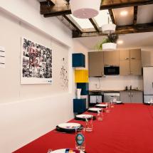 Cuisine salle à manger Le 50 Coworking