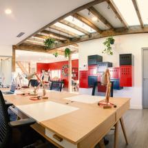 Open space résidents Le 50 Coworking